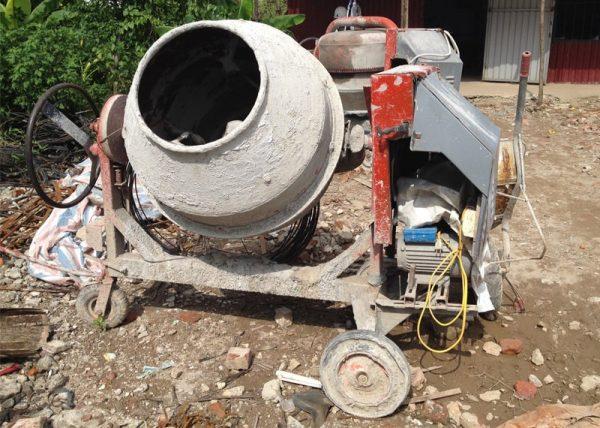 Cách bảo quản máy trộn bê tông đúng kĩ thuật